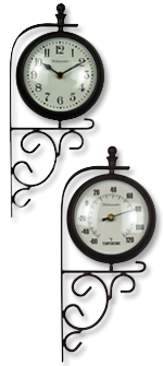 Evesham Clock & Thermometer