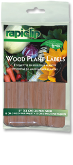 811 Wood Plant Labels