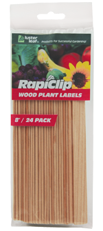 813 Wood Plant Labels