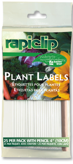 825 Plant Labels With Pencil