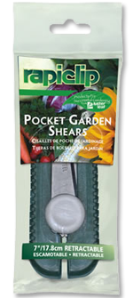 837 Retractable Pocket Garden Shears