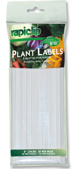 Plant Labels With Pencil