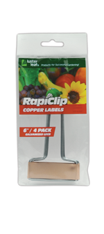 861 4 Copper Plant Labels